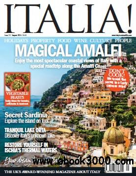Italia! magazine - August 2014 free download