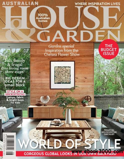 Australian House & Garden - August 2014 free download