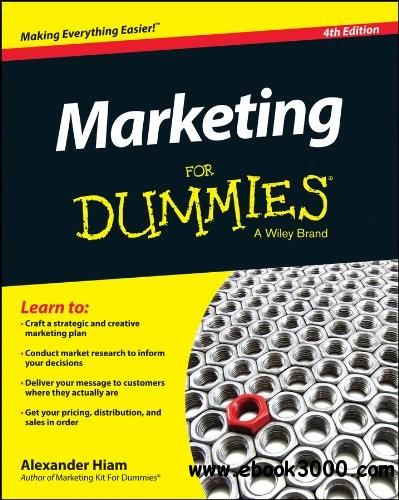 Marketing For Dummies, 4th Edition free download