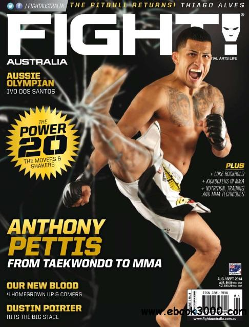 Fight Magazine Australia - August/September 2014 free download