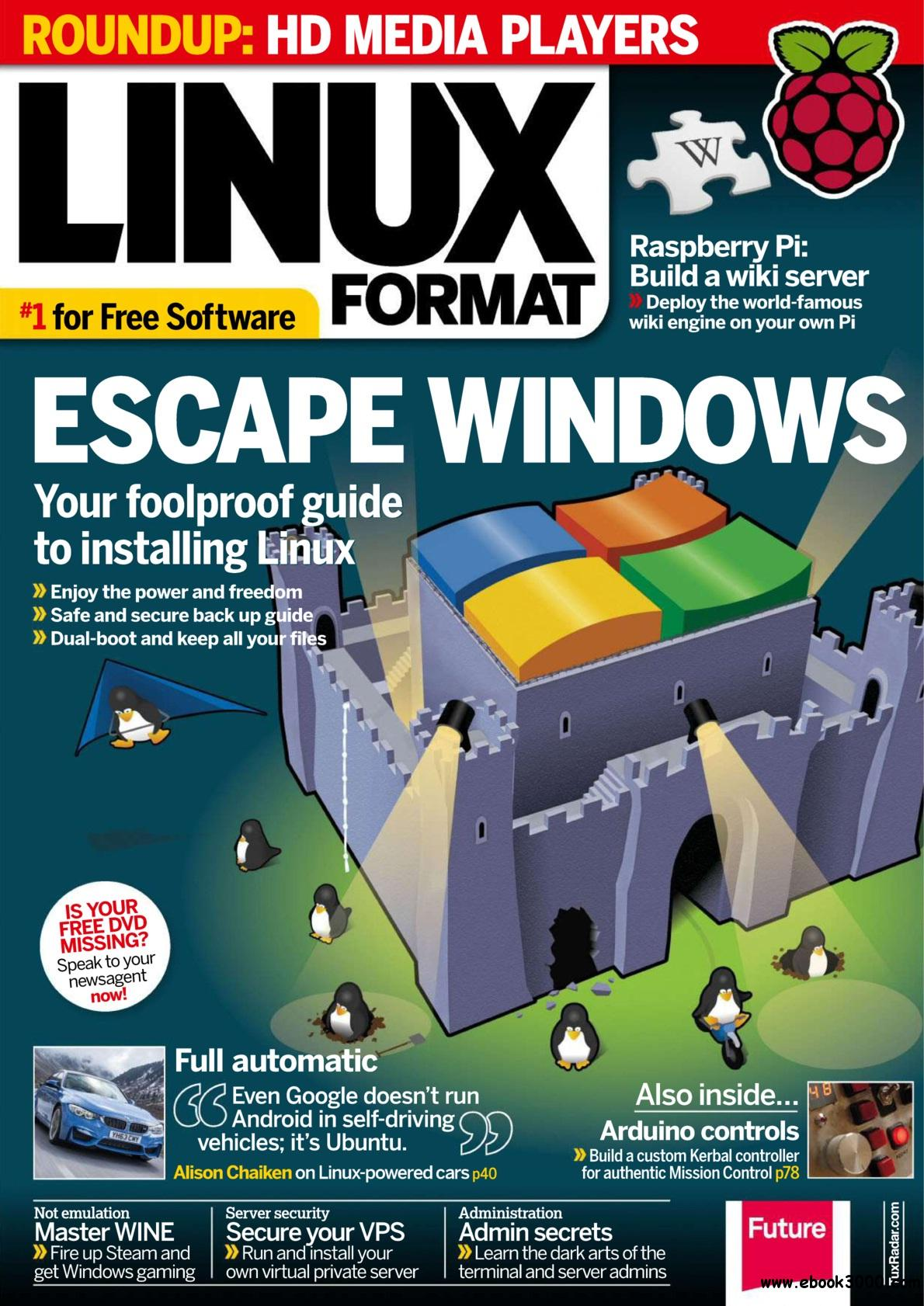 Linux Format UK - Summer 2014 free download
