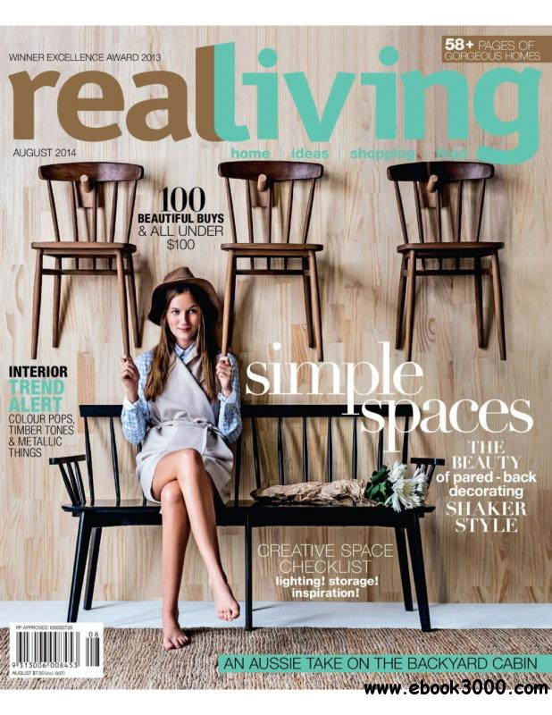 Real Living Australia - August 2014 free download