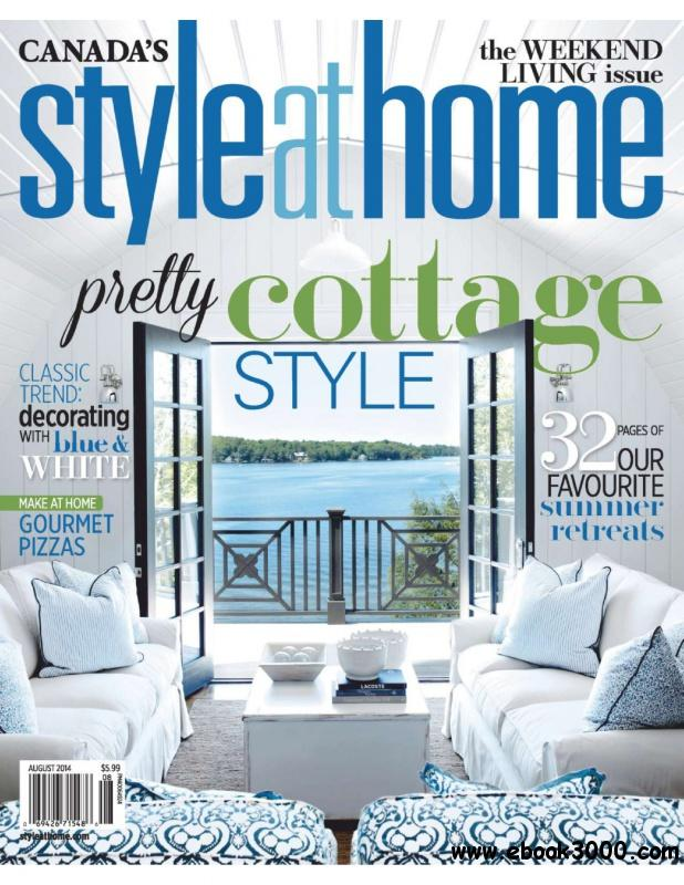 Style At Home Canada - August 2014 free download