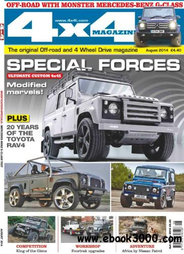 4x4 Magazine - August 2014 free download