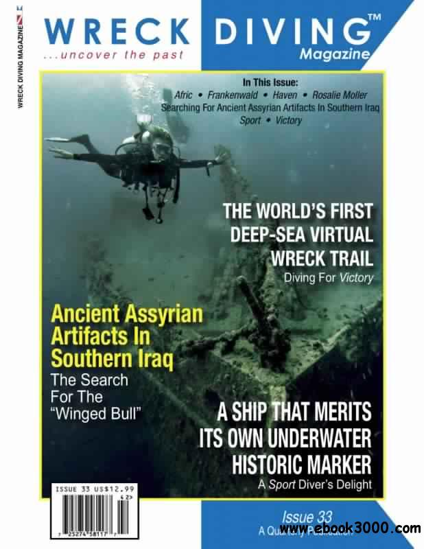 Wreck Diving Magazine No.33 - 2014 free download