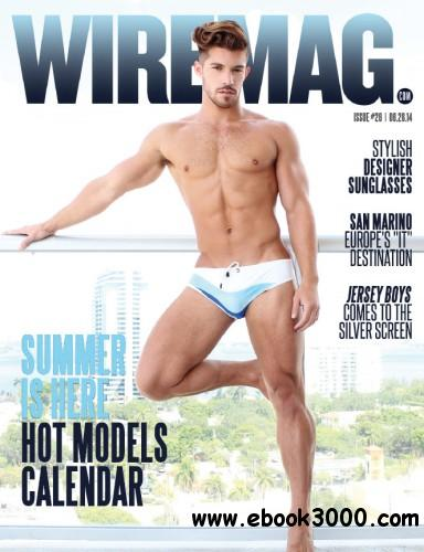 Wire Magazine - 2014 Summer Is Here Hot Models Calendar free download