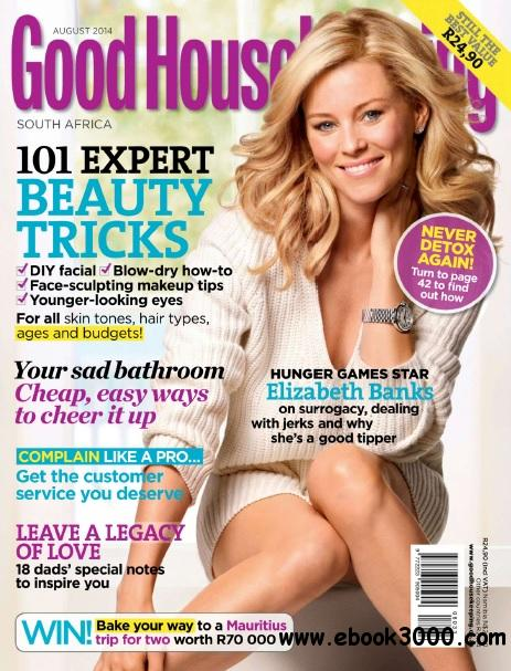 Good Housekeeping South Africa - August 2014 free download