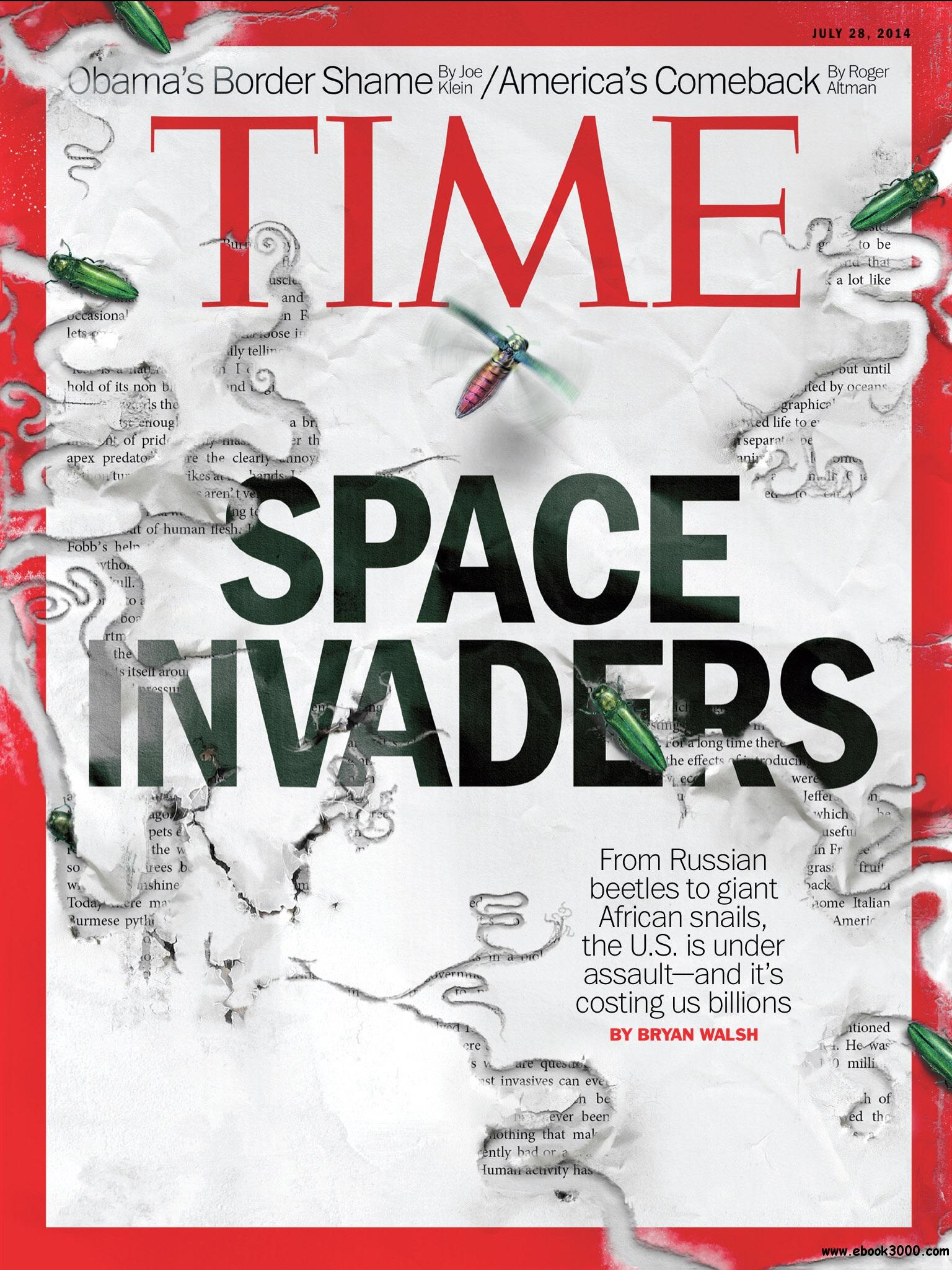 Time USA - 28 July 2014 free download