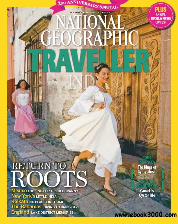 National Geographic Traveller India - July 2014 free download