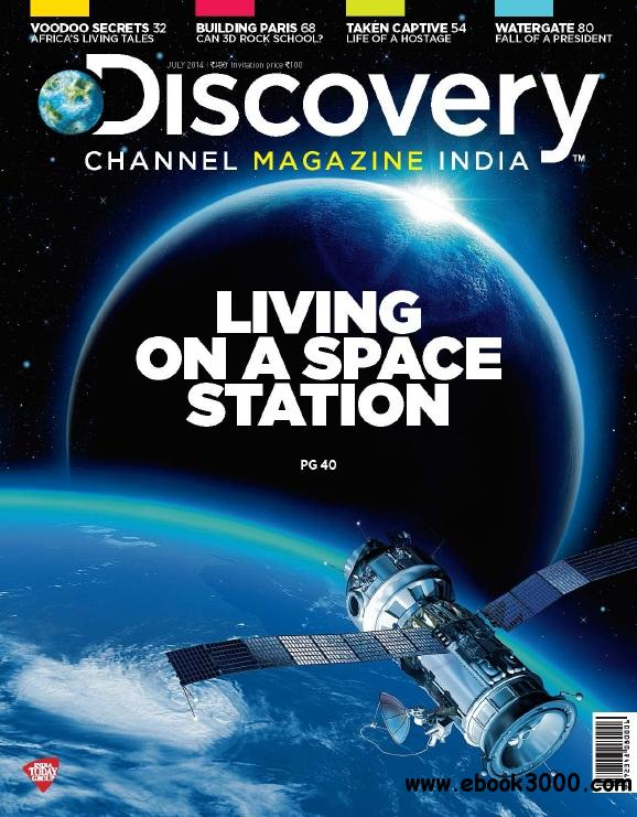 Discovery Channel Magazine India - July 2014 free download