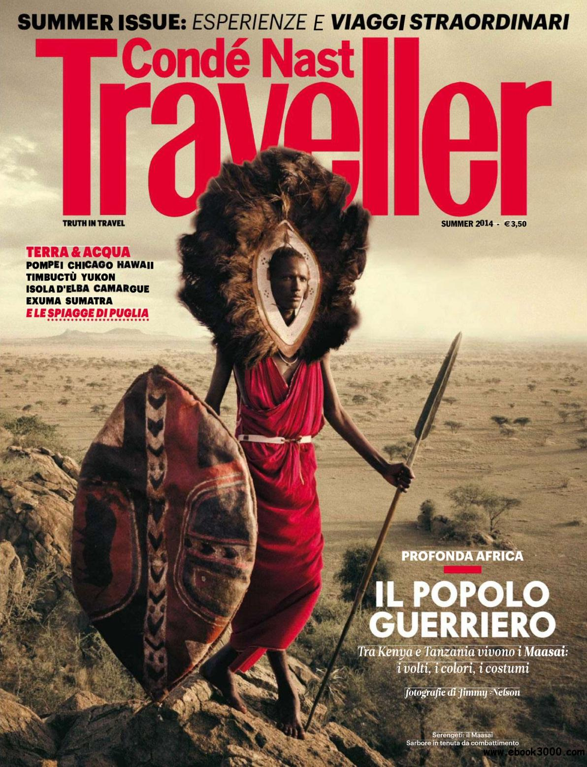 Conde Nast Traveller Italy - Summer 2014 free download