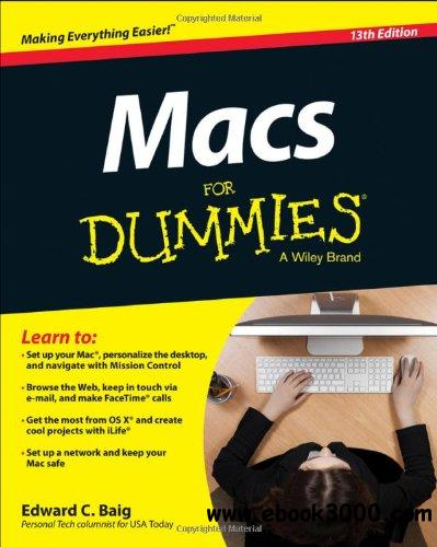 Macs For Dummies, 13th Edition free download