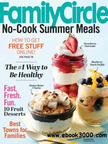 Family Circle - August 2014 free download