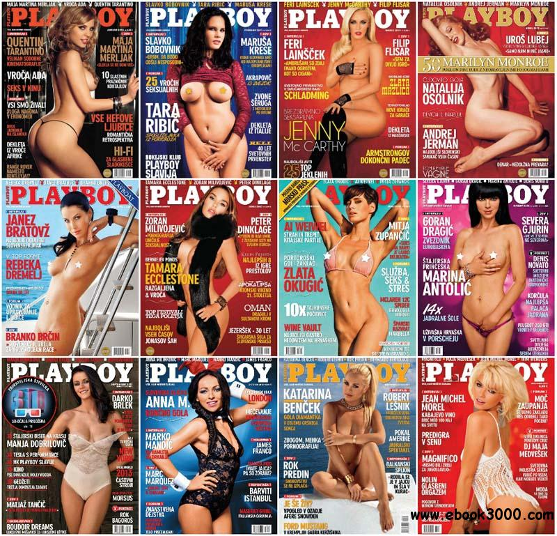 Playboy Slovenia - Full Year 2013 Issues Collection free download