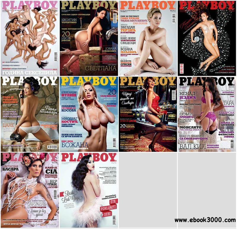Playboy Serbia - Full Year 2013 Issues Collection free download