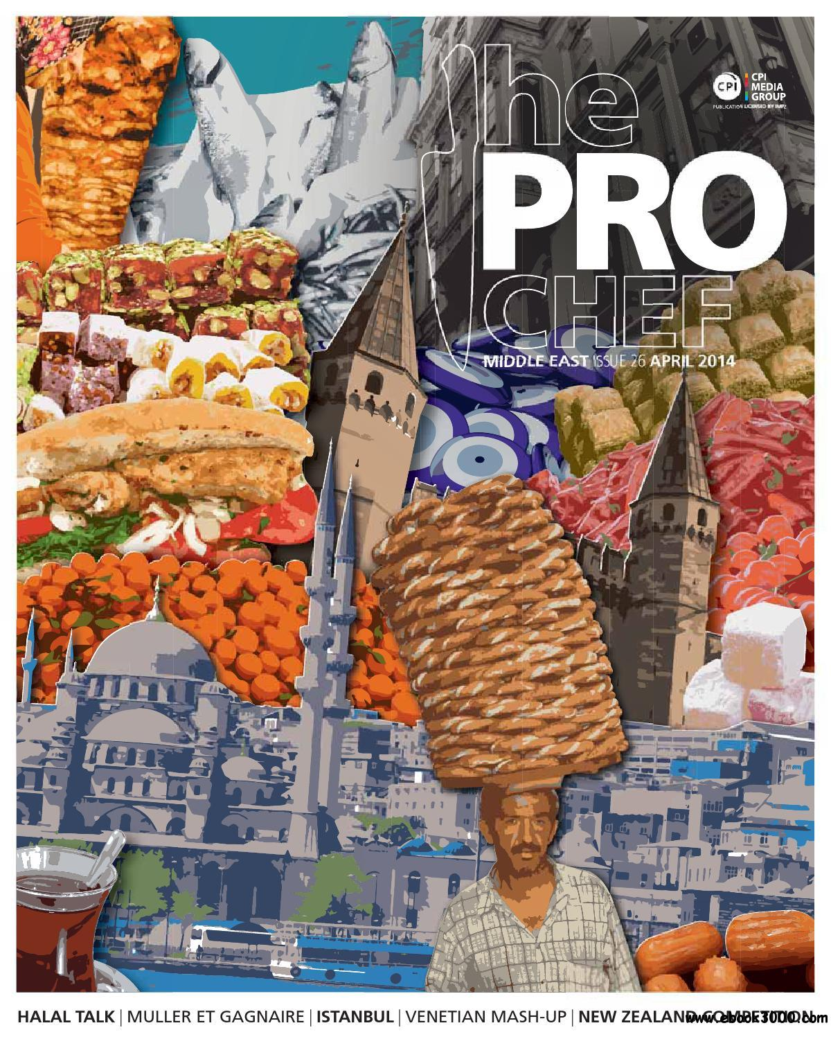 The Pro Chef Middle East - April 2014 free download