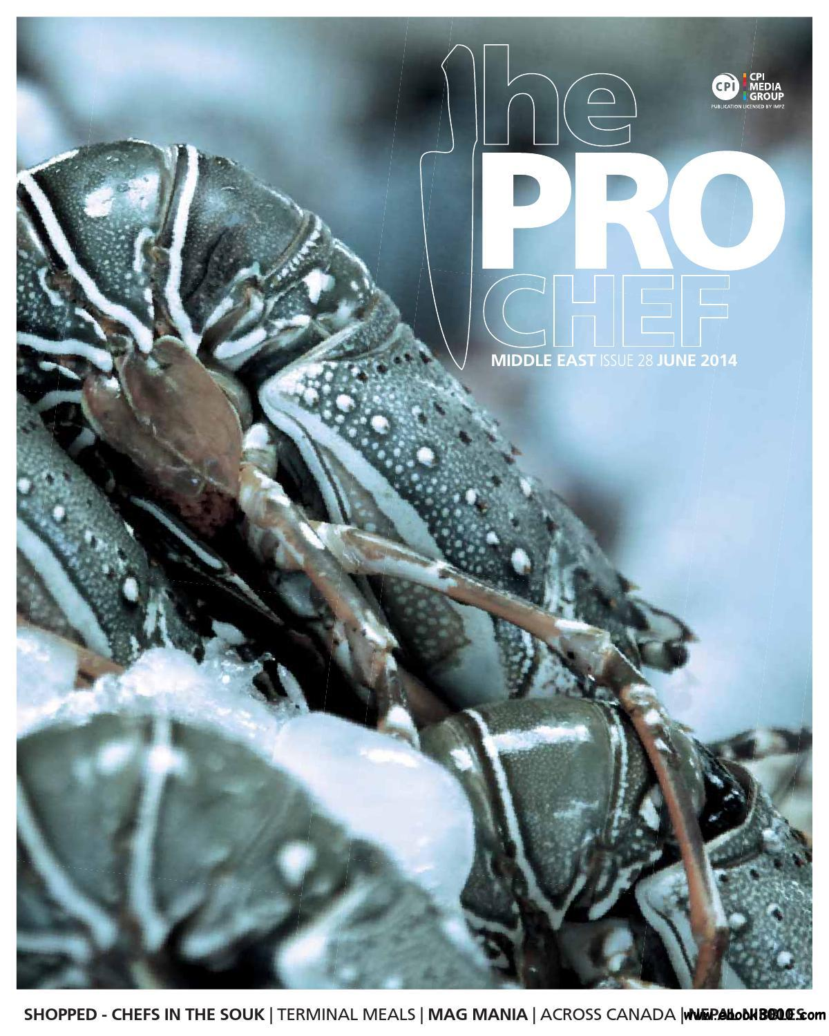 The Pro Chef Middle East - June 2014 download dree