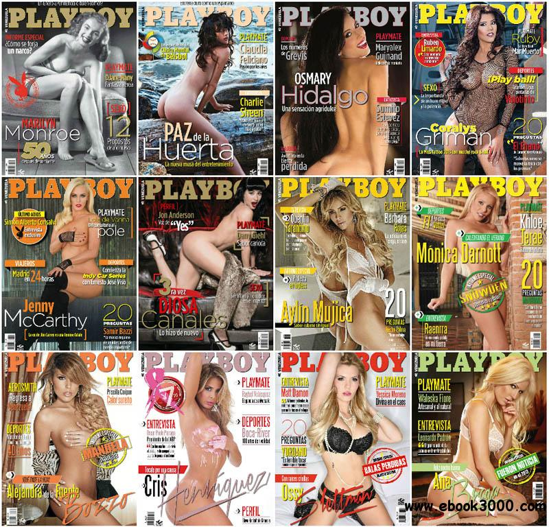 Playboy Venezuela - Full Year 2013 Issues Collection free download