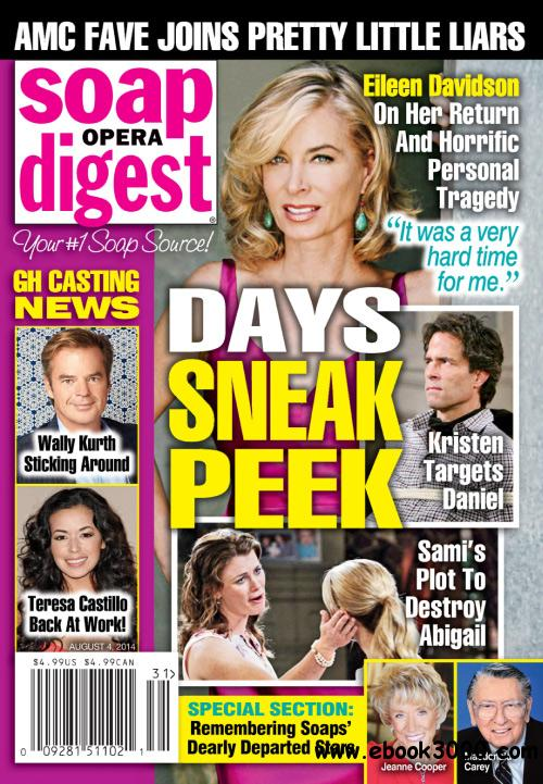 Soap Opera Digest - 04 August 2014 free download