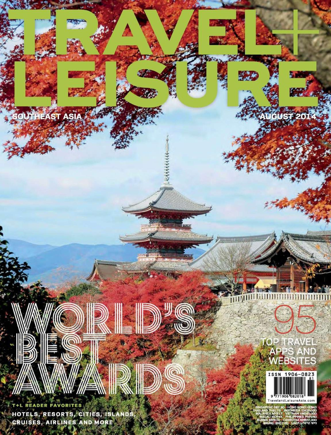 Travel + Leisure Southeast Asia - August 2014 free download