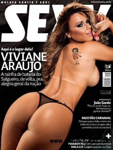 Sexy Brazil Viviane Araujo - February 2012 free download