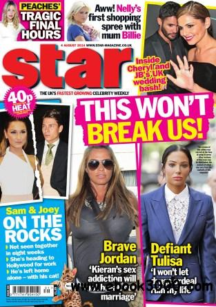 Star Magazine UK - 4 August 2014 free download
