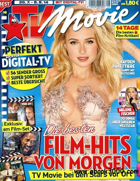 TV Movie Fernsehzeitschrift No 16 vom 26 Juli - 08 August 2014 free download
