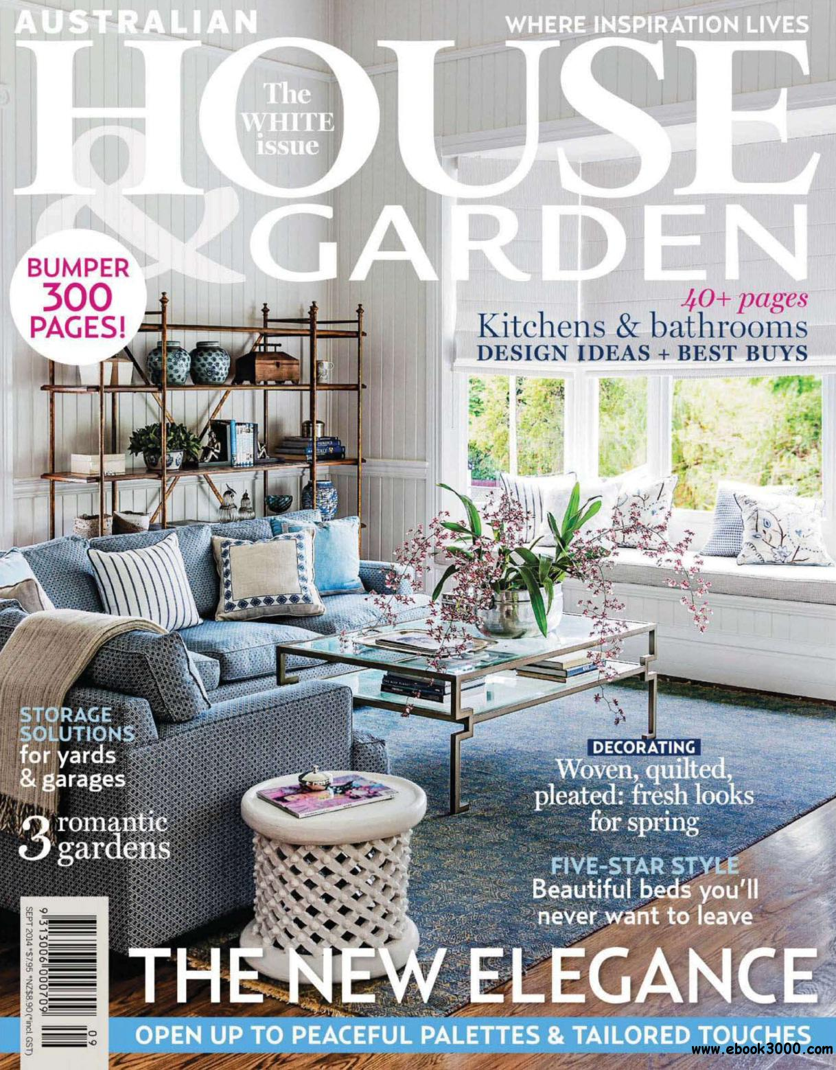 Australian House & Garden - September 2014 free download