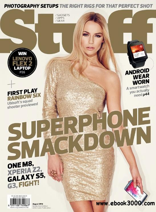 Stuff Middle East - August 2014 free download