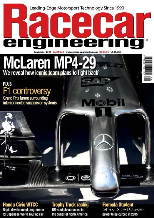 Racecar Engineering - September 2014 free download