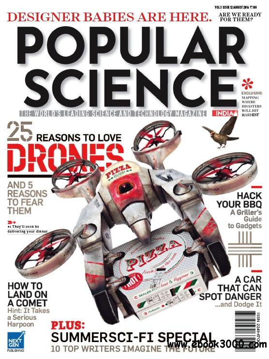 Popular Science India - August 2014 free download