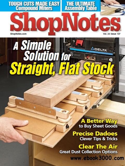 ShopNotes #137 - September/October 2014 free download