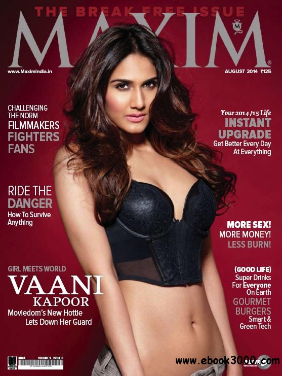 Maxim India - August 2014 free download