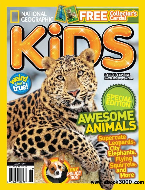 National Geographic Kids - August 2014 free download