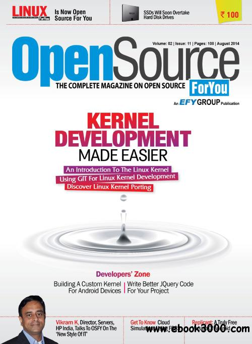 Open Source For You - August 2014 free download