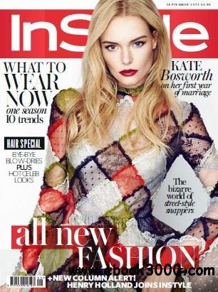 Instyle UK - September 2014 free download