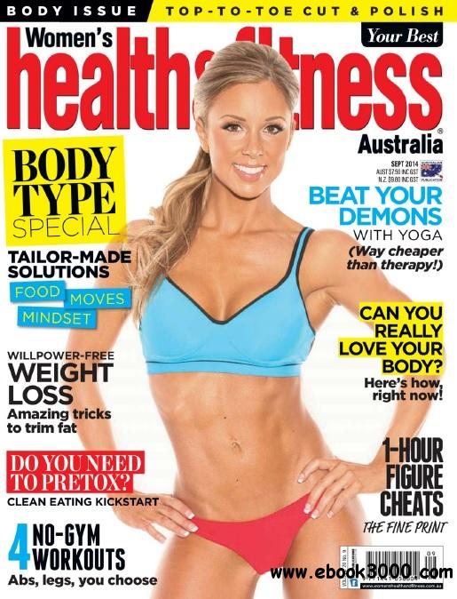 Women's Health and Fitness Australia - September 2014 free download