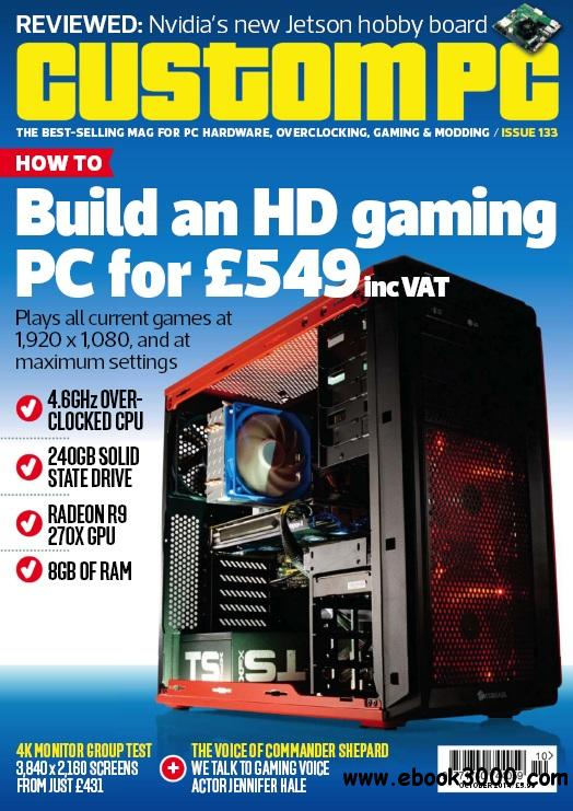 Custom PC - October 2014 free download