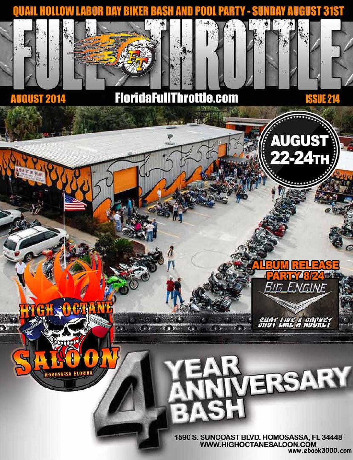 Full Throttle - August 2014 Issue 214 free download