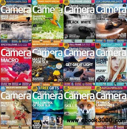 Digital Camera World Magazine 2013 Full Collection free download