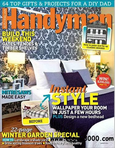 Australian Handyman Magazine August 2014 free download