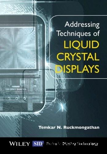 Addressing Techniques of Liquid Crystal Displays free download
