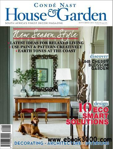 Conde Nast House & Garden Magazine September 2014 free download