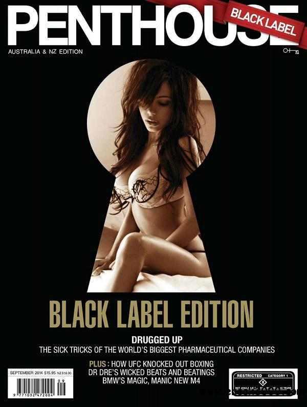 Penthouse Black Label - September 2014 / Australia free download