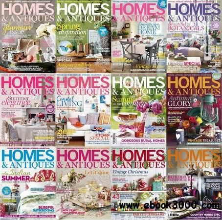 Homes & Antiques Magazine 2013 Full Collection free download