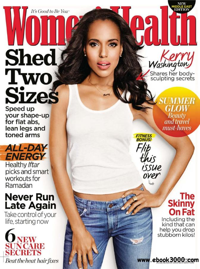 Women's Health Middle East - July / August 2014 free download