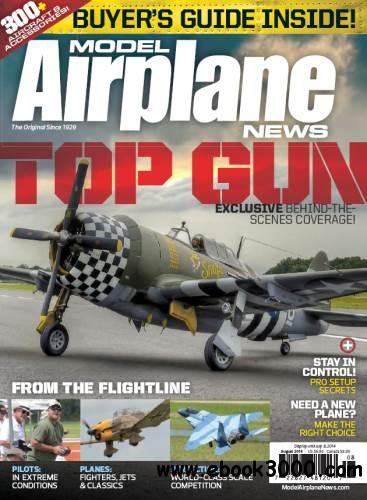 Model Airplane News - August 2014 free download