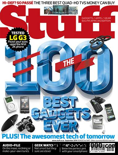 Stuff Magazine South Africa - September 2014 free download