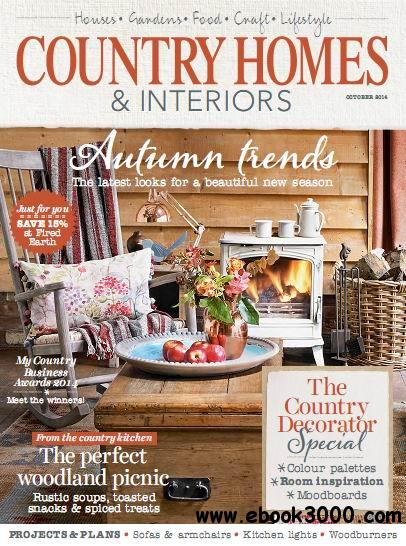 Country Homes & Interiors Magazine October 2014 free download