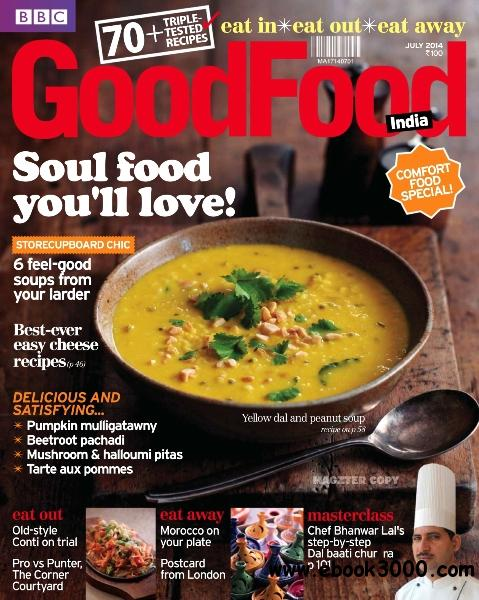 BBC GoodFood India - July 2014 free download